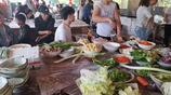 電子廠周邊的農家樂,週末的好去處,自己動手做美食。