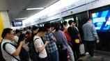 高峰期的成都地鐵一號線,開往天府軟件園,擠車熱得我受不了