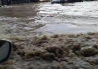 長春突遭暴雨局部成水鄉澤國 司機駕車涉水被淹