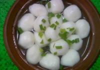 天下美食——揚州魚圓