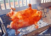 老外學做中國美食烤乳豬,學藝不精,畫面太美我無法直視!