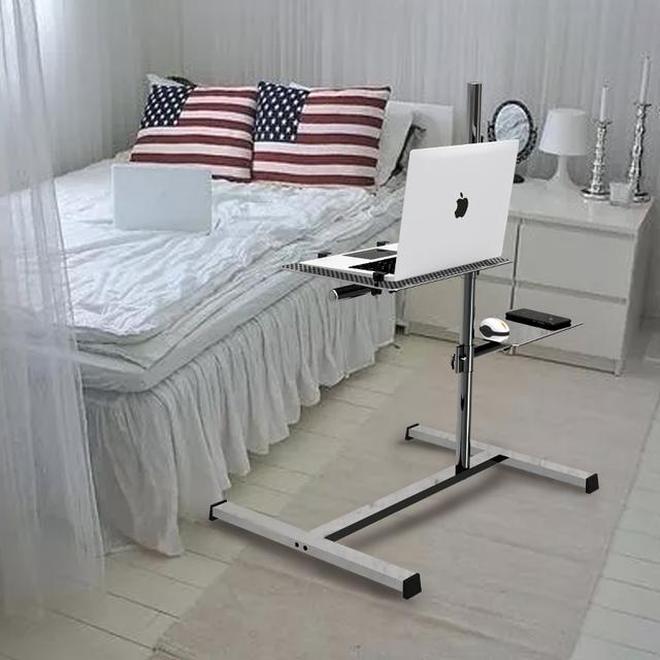 現實宿舍中巨實用的的電腦桌,有了神器上網衝浪一點不累人