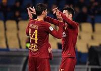 意大利杯:希克雙響小克魯伊維特兩助,羅馬4-0恩特拉