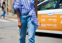 穿慣了白襯衫,初遇條紋襯衫,給你不一樣的魅力值!
