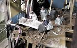 二戰老照片:圖6小女孩失去爸媽,家園被毀,眼裡透出絕望!