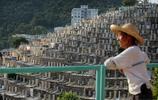 實拍'人滿為患'的香港墓地,生前要蝸居,死後還得'擠一擠'