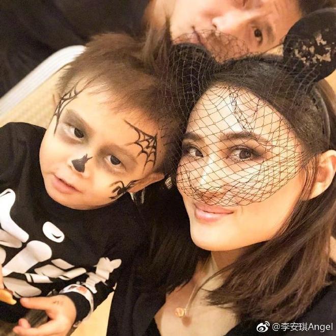 李安琪和兒女合照傳出,網友:一家人真可愛