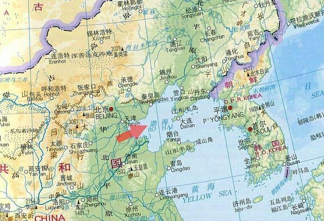 中國4大海域簡介!