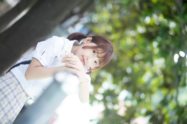 日常攝影:JK服小清新萌妹紙