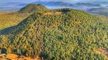 到騰衝 必須坐一回熱氣球 你才會知道騰衝的山為什麼沒有山頭