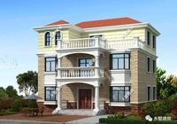 簡歐風二層半別墅,多臥室滿足家庭成員多的家庭,在農村真實用!