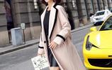 2017秋冬女裝新款毛呢外套,顯瘦時尚還不貴