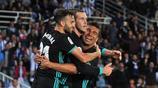 西甲,皇馬貝爾打破質疑終進球,隊友慶祝不淡定,卡塞米羅要哭