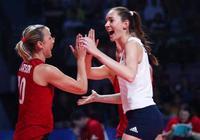 替補之戰巴西女排1:3不敵美國、列小組第二,半決賽如願對土耳其