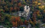 萊茵河兩岸絕美秋景圖