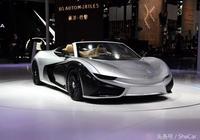 國產純電動超跑即將上市,顏值不輸法拉利車標真的很帥氣!