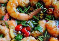 酸辣涼拌蝦—吃了五六年的蘸料!教你煮出超嫩的蝦