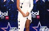 LA娛樂|英國歌手羅謝爾·休姆斯,出席倫敦2019年全球大獎