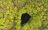 """陝西天坑:國際著名探險家讓·波塔西稱之為""""世界上最美的天坑"""""""